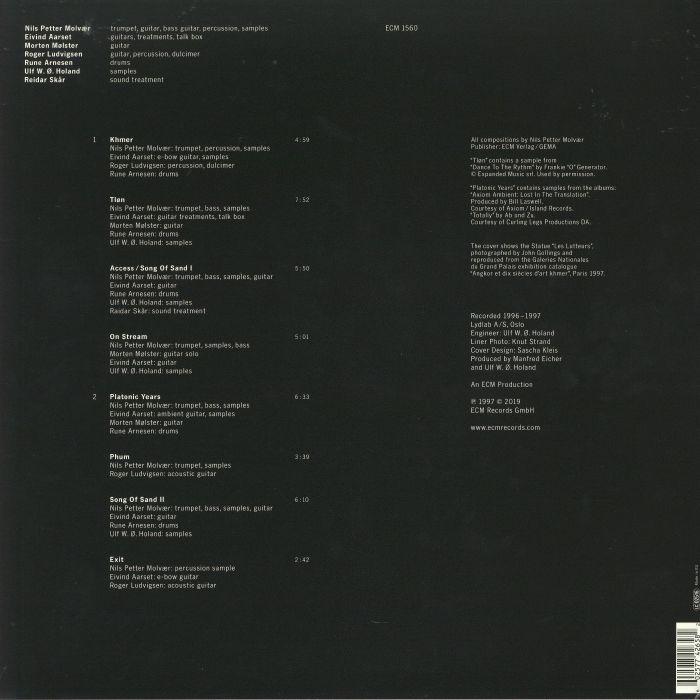 Nils Petter MOLVAER Khmer vinyl at Juno Records