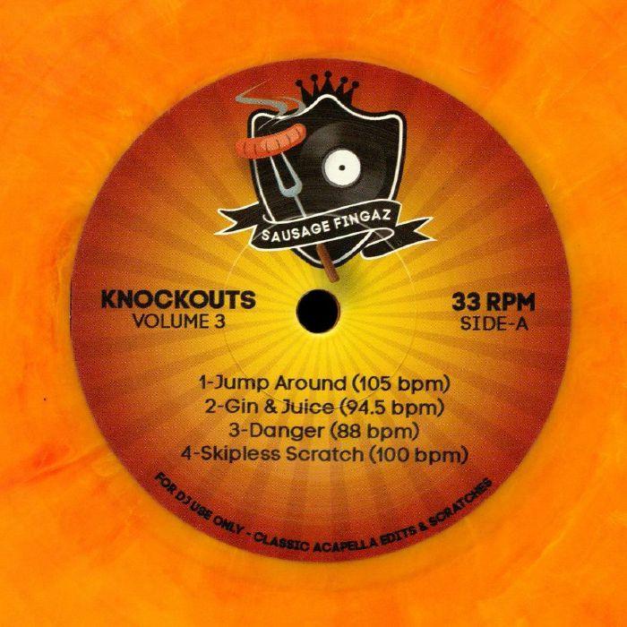 DJ SAUSAGE FINGAZ Knockout Volume 3 vinyl at Juno Records