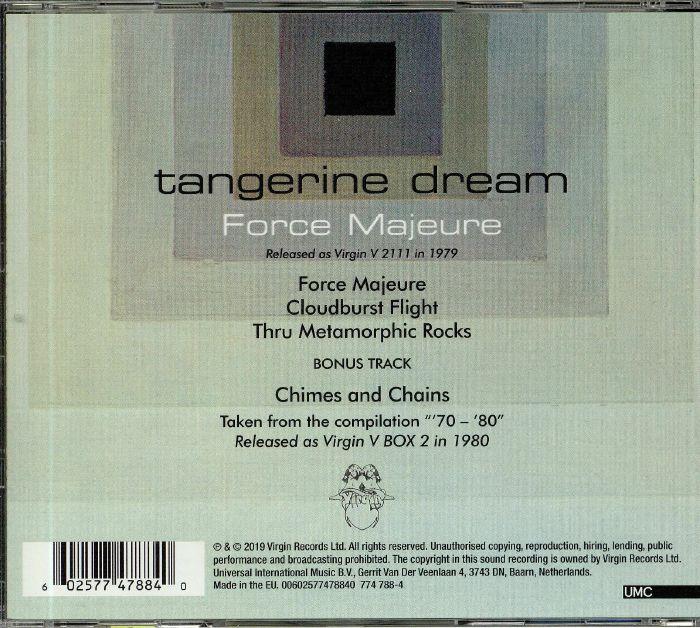 TANGERINE DREAM Force Majeure (reissue) vinyl at Juno Records