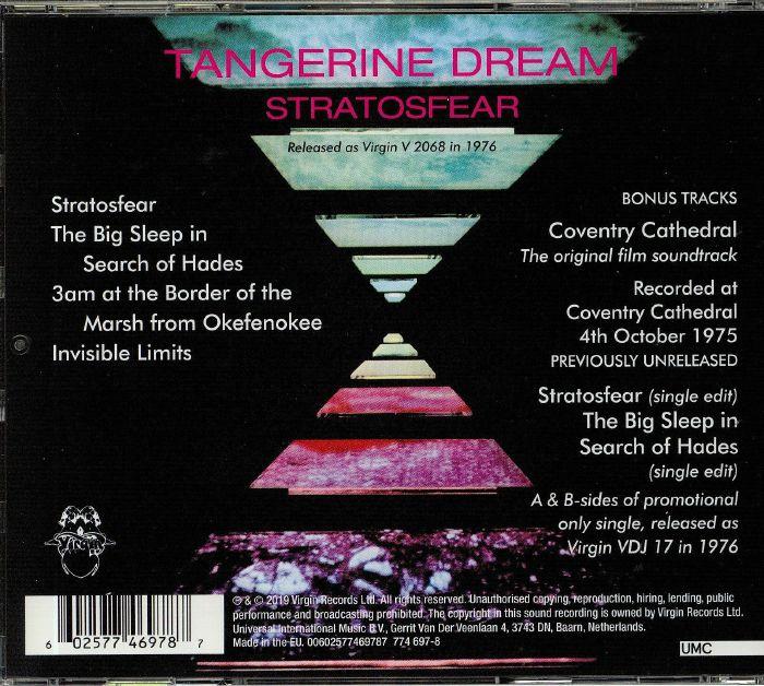 TANGERINE DREAM Stratosfear (reissue) vinyl at Juno Records
