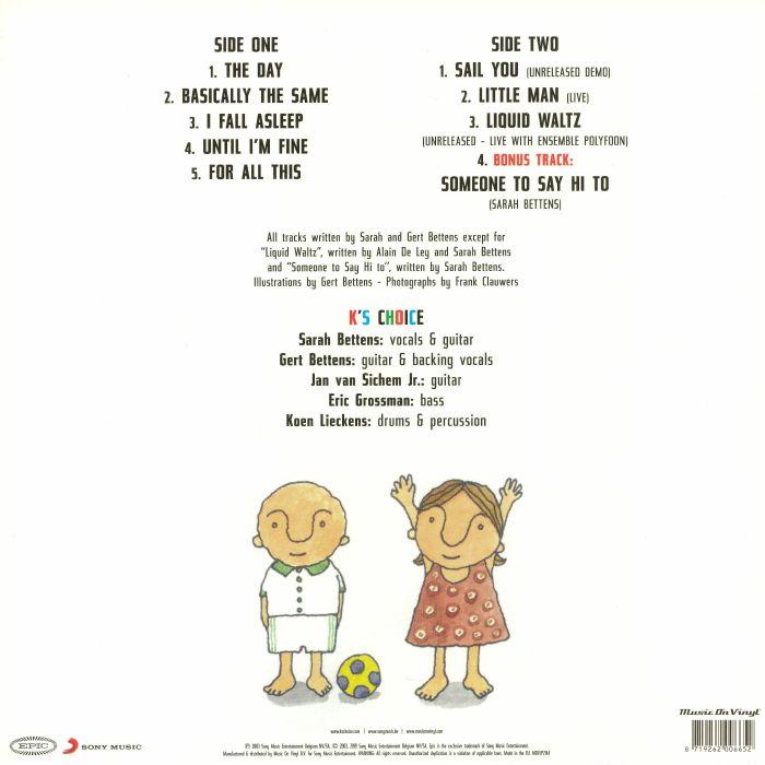 K S CHOICE Running Backwards (reissue) vinyl at Juno Records