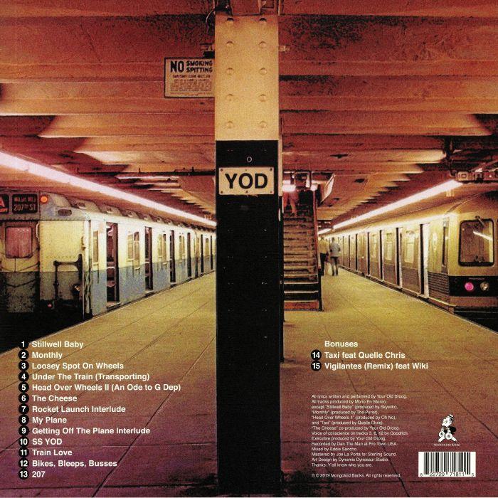 YOUR OLD DROOG Transportation vinyl at Juno Records
