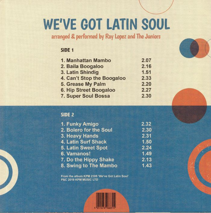 Ray LOPEZ/THE JUNIORS We ve Got Latin Soul vinyl at Juno