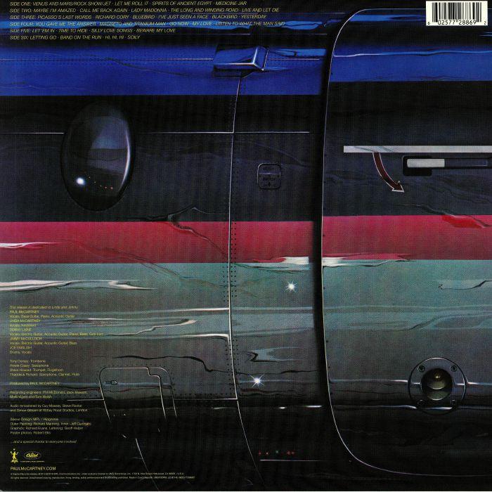 Paul McCARTNEY/WINGS Wings Over America (remastered) vinyl