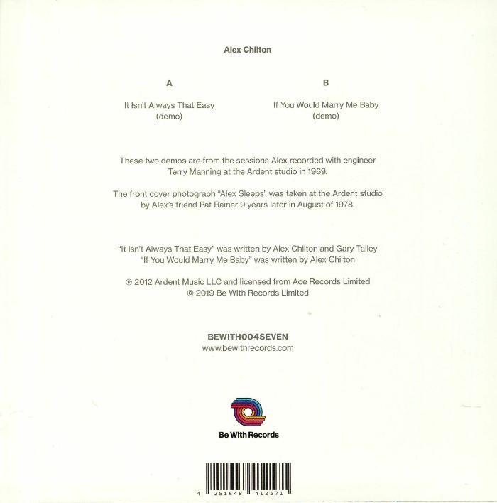 Alex CHILTON It Isn t Always That Easy vinyl at Juno Records