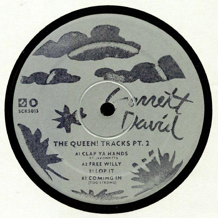 Garrett DAVID The Queen! Tracks Part 2 vinyl at Juno Records