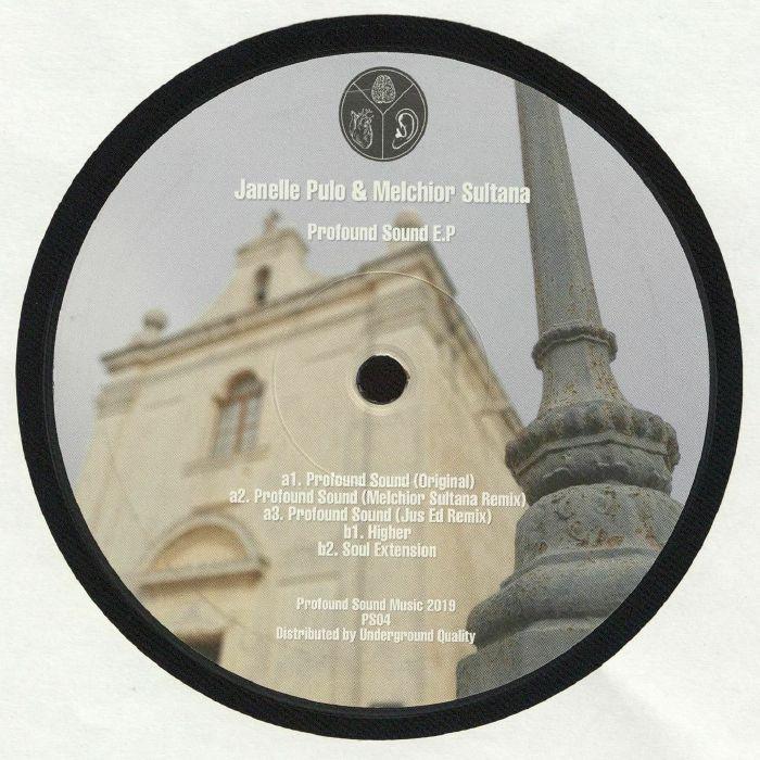 Janelle PULO/MELCHIOR SULTANA Profound Sound EP vinyl at