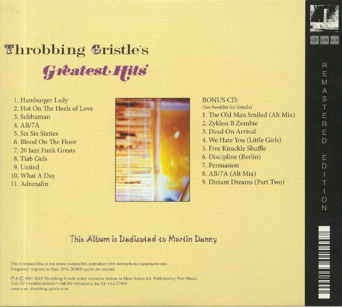 THROBBING GRISTLE Greatest Hits: Entertainment Through Pain