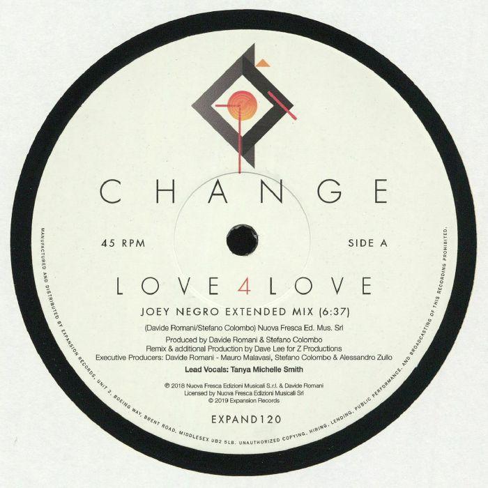 CHANGE Love 4 Love vinyl at Juno Records