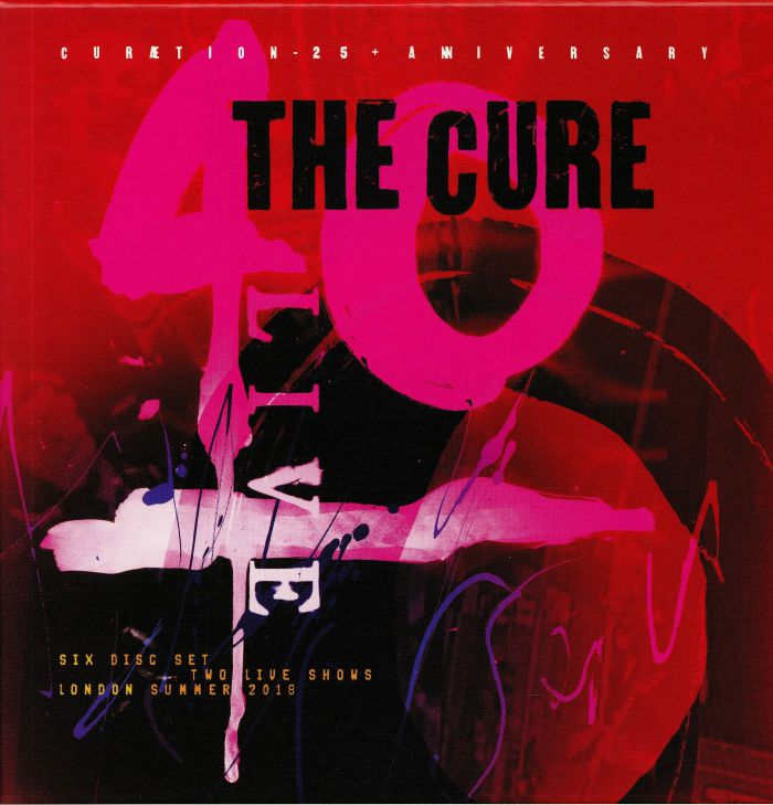 CURE, The - 40 Live: Curaetion 25 + Anniversary