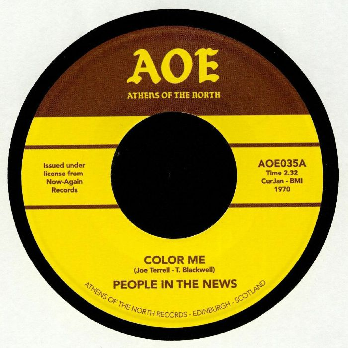 PEOPLE IN THE NEWS Color Me (reissue) vinyl at Juno Records