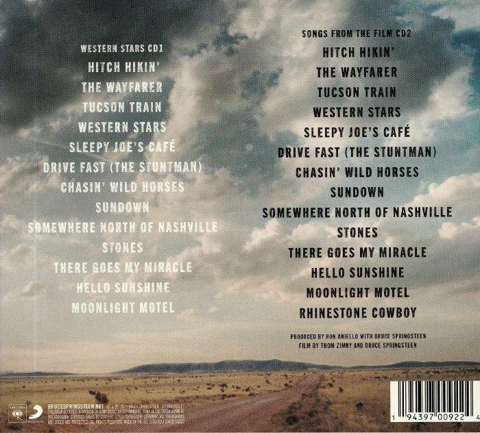 Bruce Springsteen Western Stars Songs From The Film Vinyl