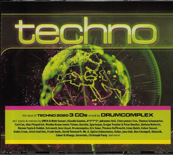 Techno 2020 (Mixed by Drumcomplex)
