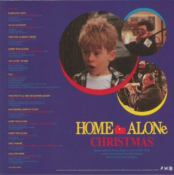 VARIOUS Home Alone Christmas (Soundtrack) vinyl at Juno Records.