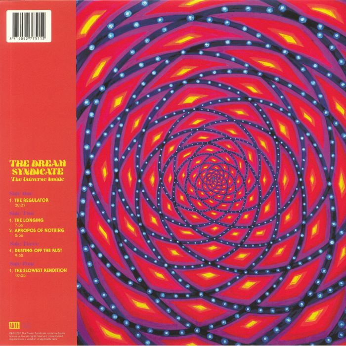 The DREAM SYNDICATE The Universe Inside vinyl at Juno Records.