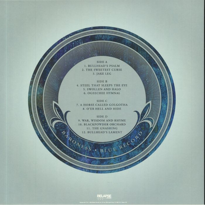 BARONESS - Blue Record (reissue) - Vinyl (gatefold picture ...
