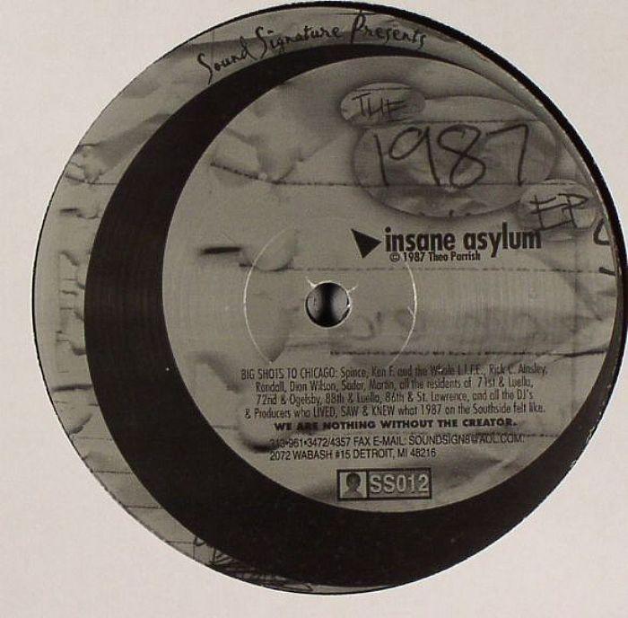 CARSON, Leron/THEO PARRISH - The 1987 EP