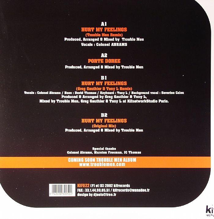 TROUBLE MEN feat COLONEL ABRAMS - Hurt My Feelings