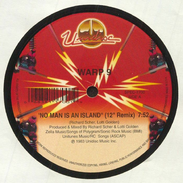 Warp 9 No Man Is An Island