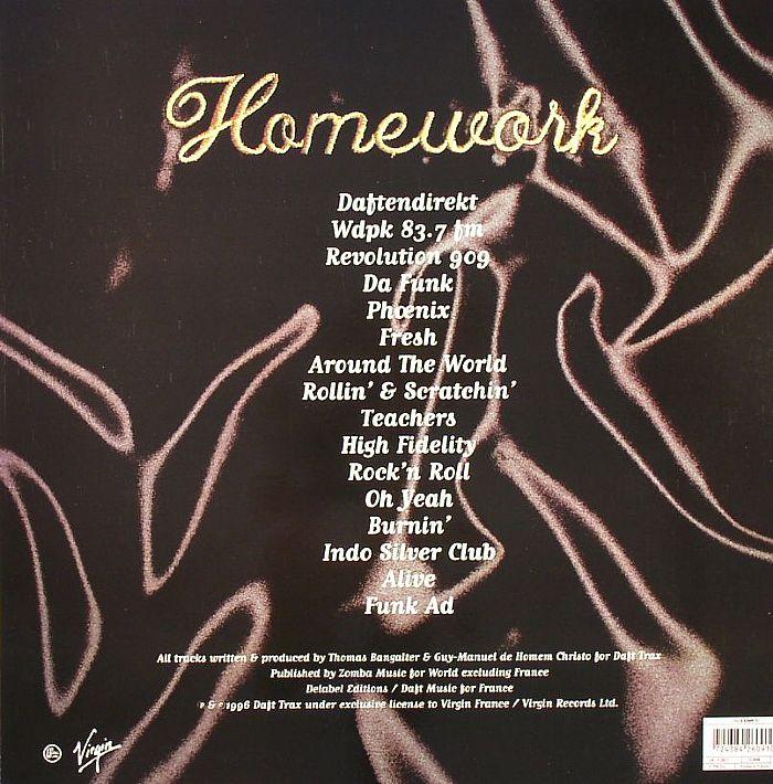 daft punk homework vinyl