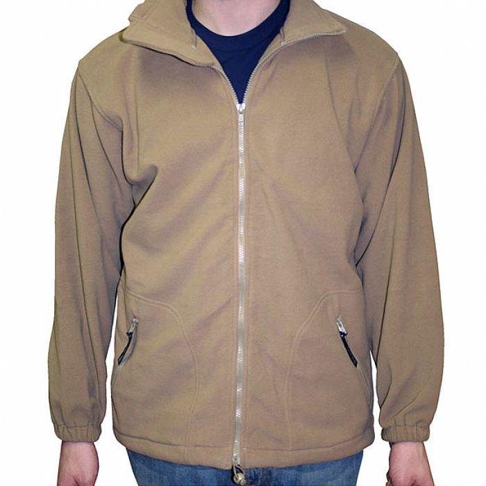 RAWHILL CRU - Rawhill Cru Fleece (tan with brown logo)