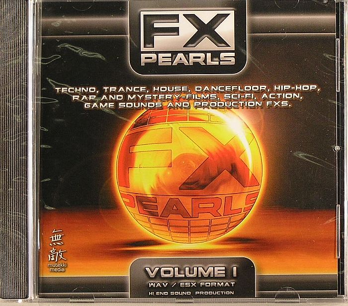 Mutekki Fx Pearls Vol 1 Sample Cd Vinyl At Juno Records