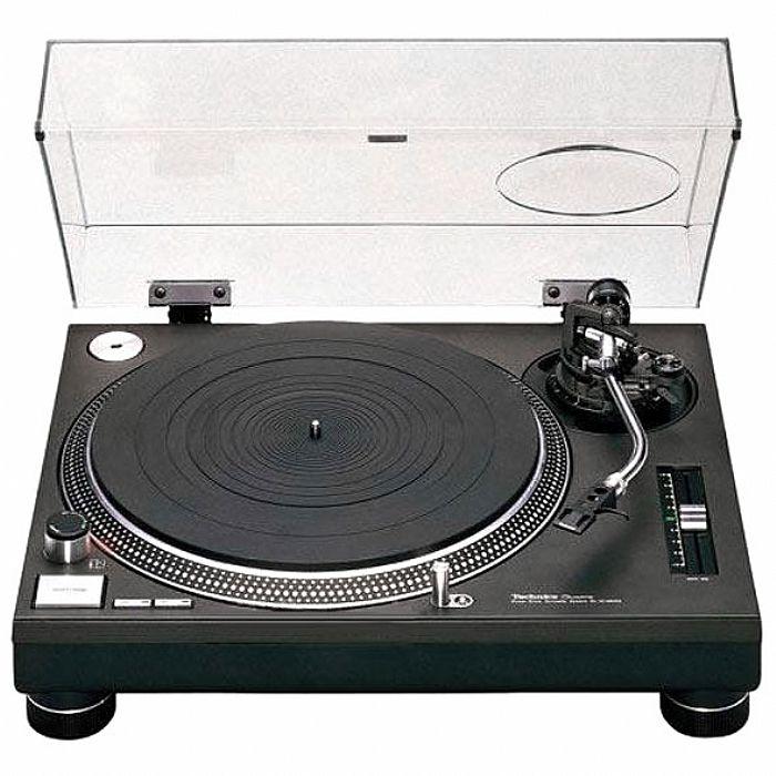 Technics Technics Sl1210 Mk2 Turntable Black Vinyl At