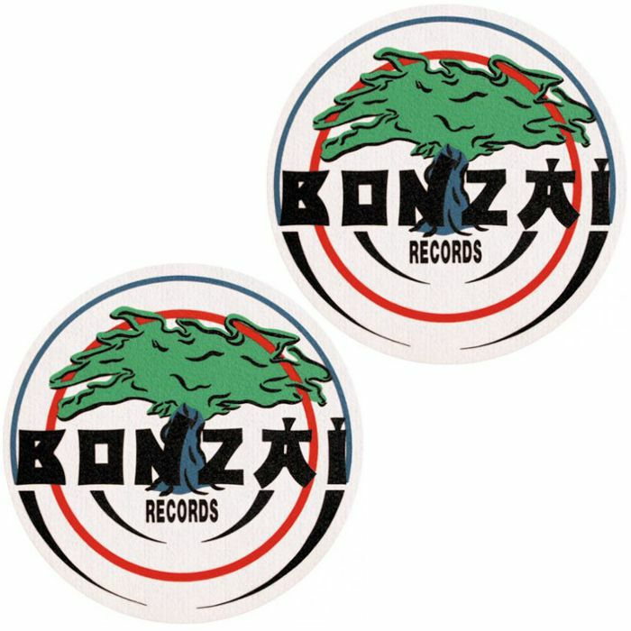 SLIPMAT FACTORY - Slipmat Factory Bonzai Slipmats (pair, white)