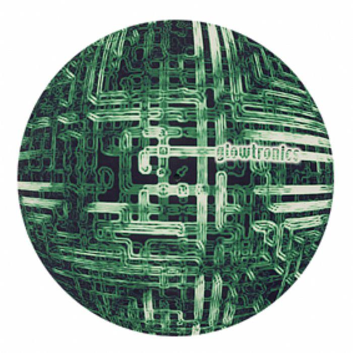 GLOWTRONICS - Glowtronics Circuit Glow In The Dark Slipmats (pair, black/green/white)