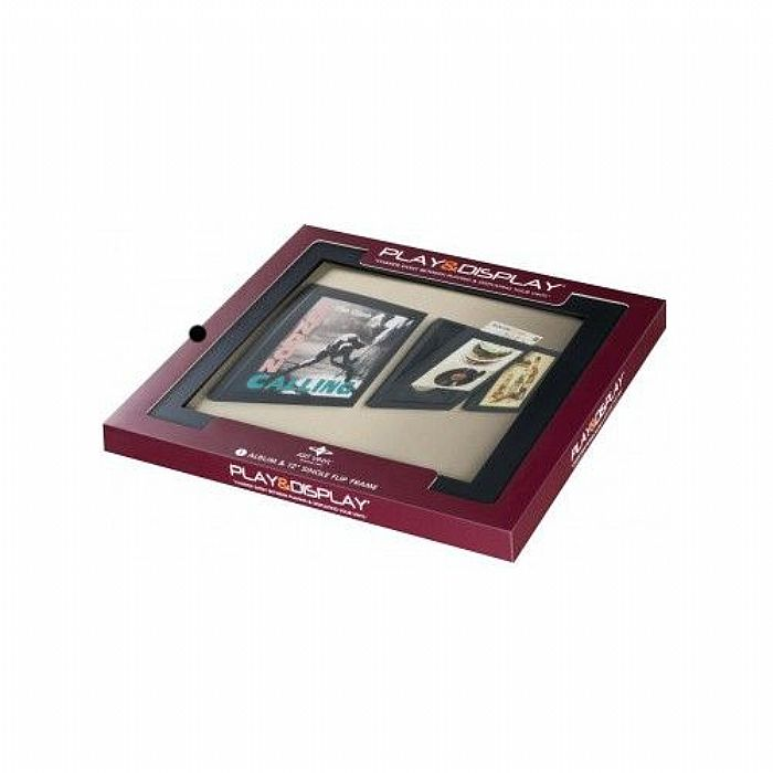 ART VINYL Art Vinyl Play & Display Flip Frame (black) vinyl at Juno ...