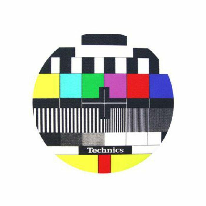 SLIPMAT FACTORY - Slipmat Factory Technics TV Slipmats (pair, multicoloured)