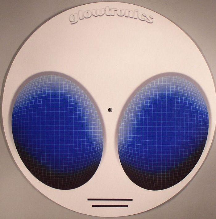GLOWTRONICS - Glowtronics Alien Glow In The Dark Slipmats (pair)