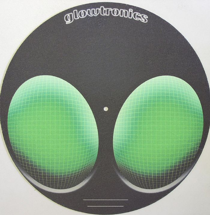 GLOWTRONICS - Glowtronics Alien One Classic Non Glow Slipmats (pair)