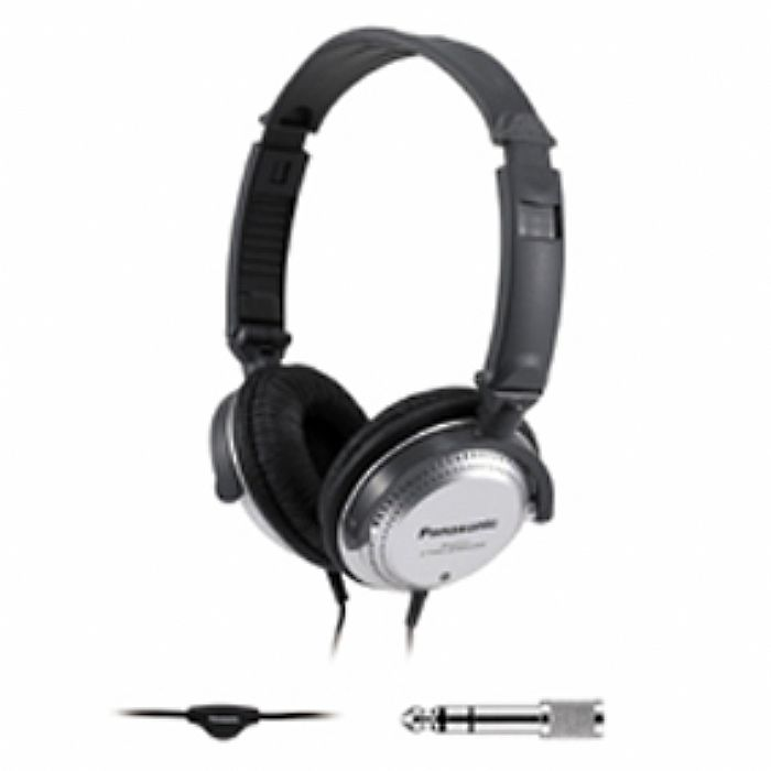 PANASONIC - Panasonic RPHT227 Headphones (black, silver)