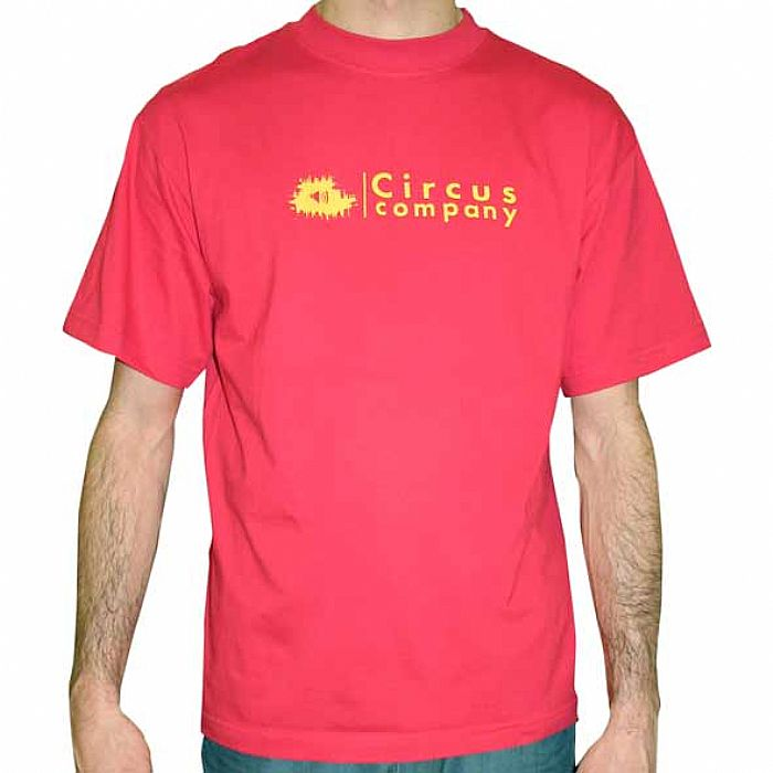 Circus company circus company t shirt red with yellow for The red t shirt company