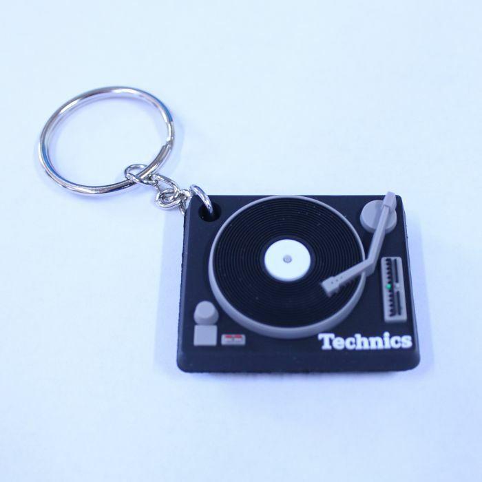 TECHNICS - Technics 1210 Turntable Deck Keyring (black)