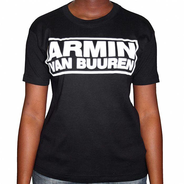 VAN BUUREN, Armin - Armin Van Buuren T-Shirt (black with white logo)