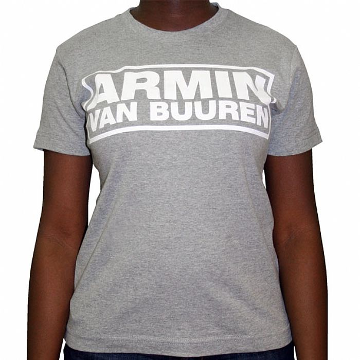 VAN BUUREN, Armin - Armin Van Buuren T-Shirt (grey with white logo)