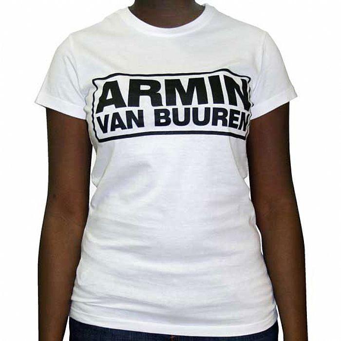 VAN BUUREN, Armin - Armin Van Buuren T-Shirt (white with black logo)