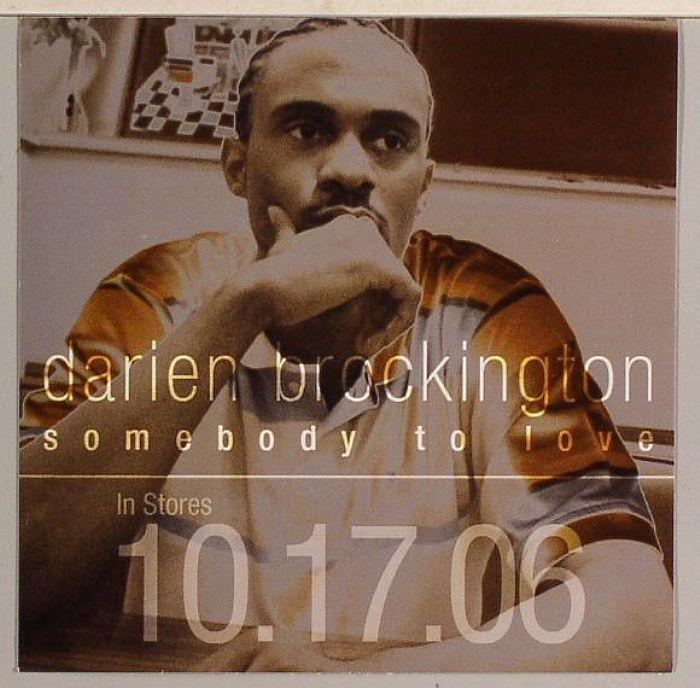 BROCKINGTON, Darien - Somebody To Love (sticker) (free with any order)
