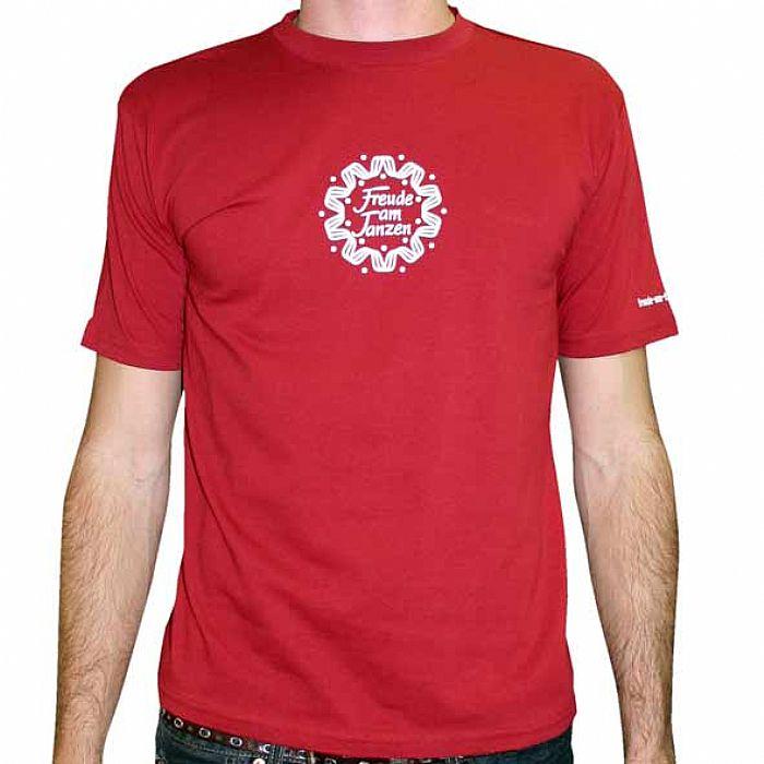 FREUDE AM TANZEN - Freude Am Tanzen T-Shirt (red with white logo)