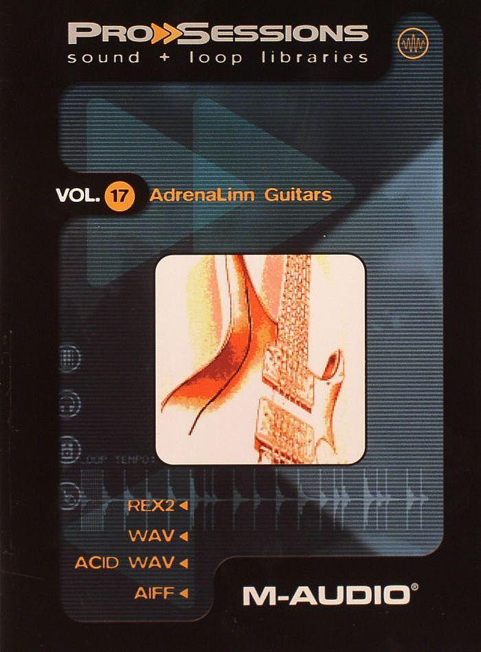 PROSESSIONS - ProSessions Vol 17: Adrenalinn Guitars Sample CD