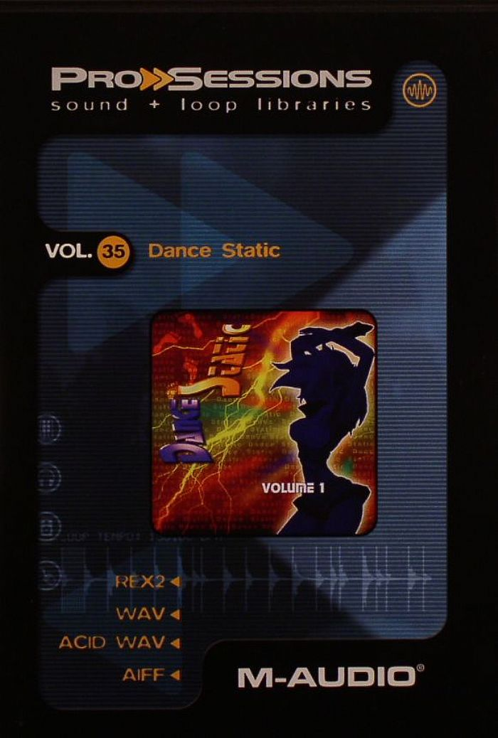 PROSESSIONS - ProSessions Vol 35: Dance Static Sample CD
