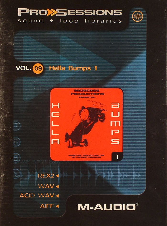 Prosessions Prosessions Vol 09 Hella Bumps 1 Sample Cd