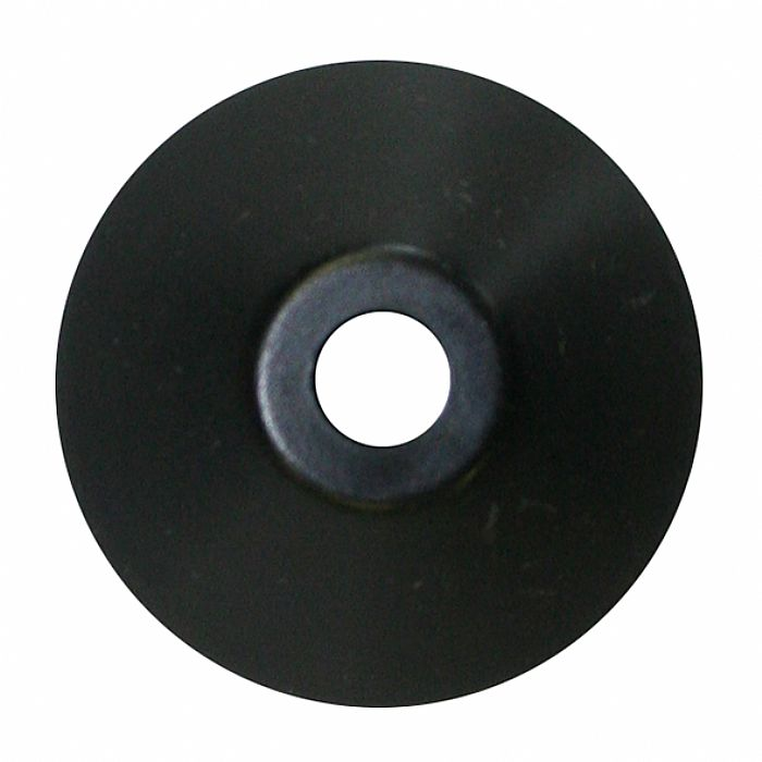 SPINDLE ADAPTER CENTER - Spindle Adapter Center For Playing 45 RPM Records (black plastic, cone-shaped)