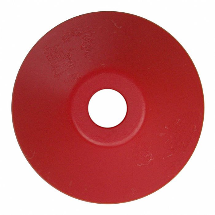 SPINDLE ADAPTER CENTER - Spindle Adapter Center For Playing 45 RPM Records (red plastic, cone-shaped)