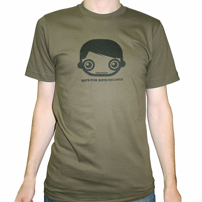 Toys For Boys Black : Toys for boys t shirt army green with black