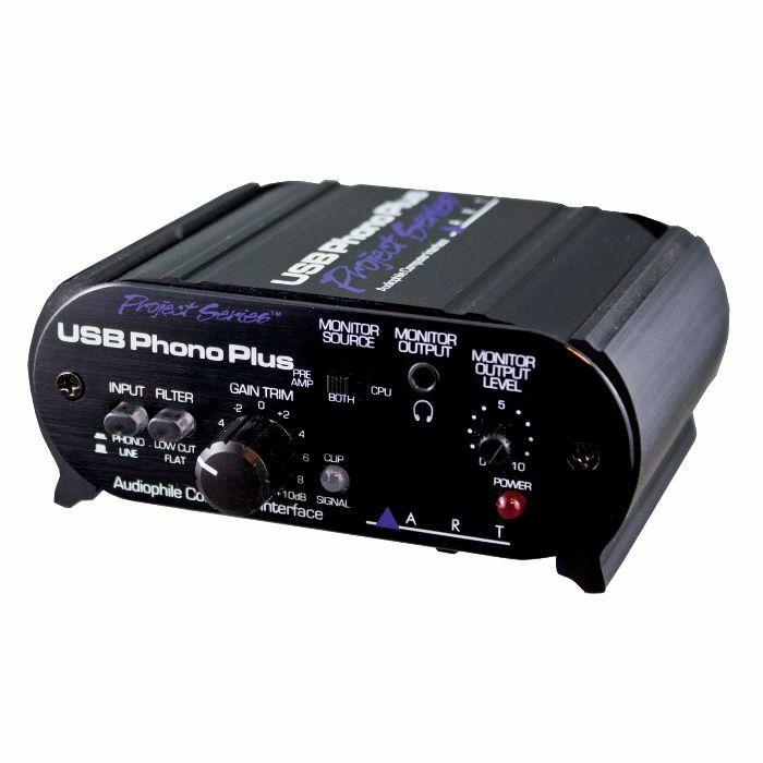 ART - ART USB Phono Plus PS Audiophile Preamp & Computer Interface