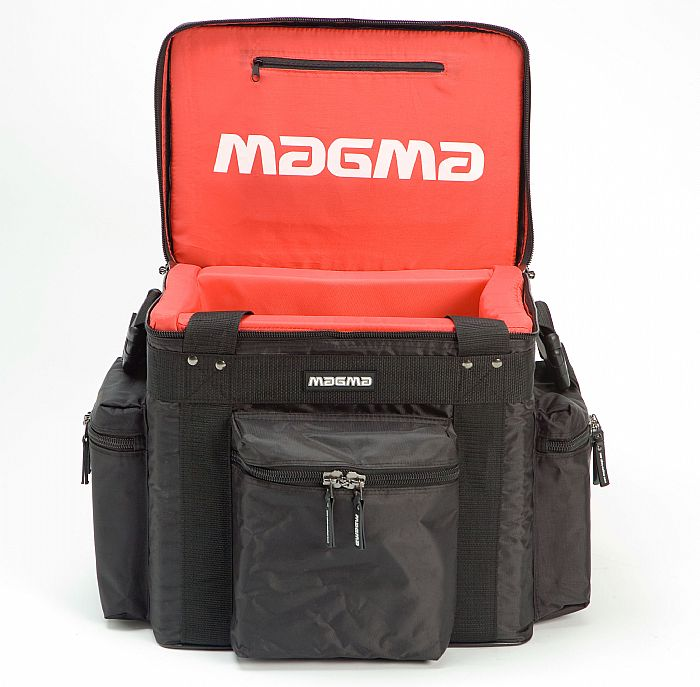 MAGMA - Magma LP60 Profi 12 Inch Vinyl Record Bag (black, red)