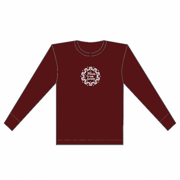 FREUDE AM TANZEN - Freude Am Tanzen Sweatshirt (red with white logo)